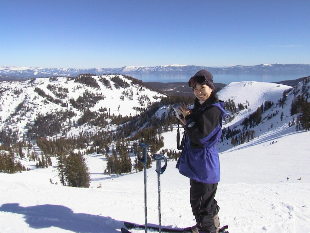 Alpine Bowl at Alpine Meadows, March 2001