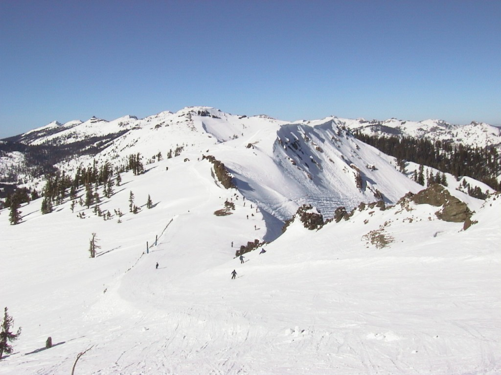 Alpine Meadows summit