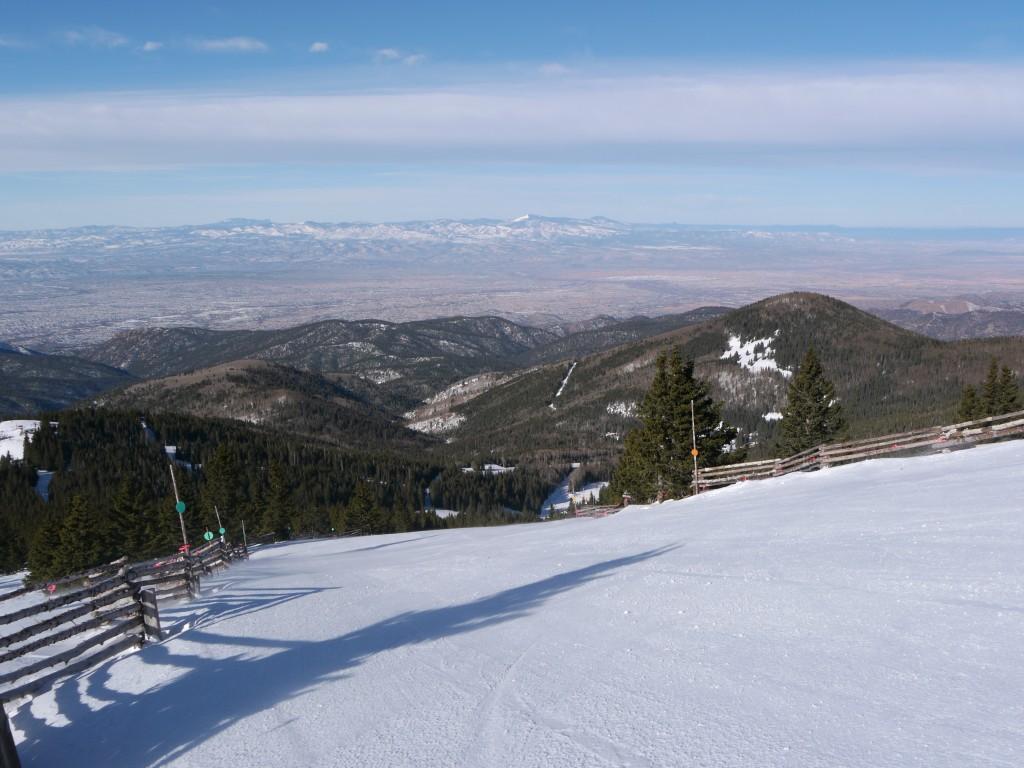 Ski Santa Fe groomer