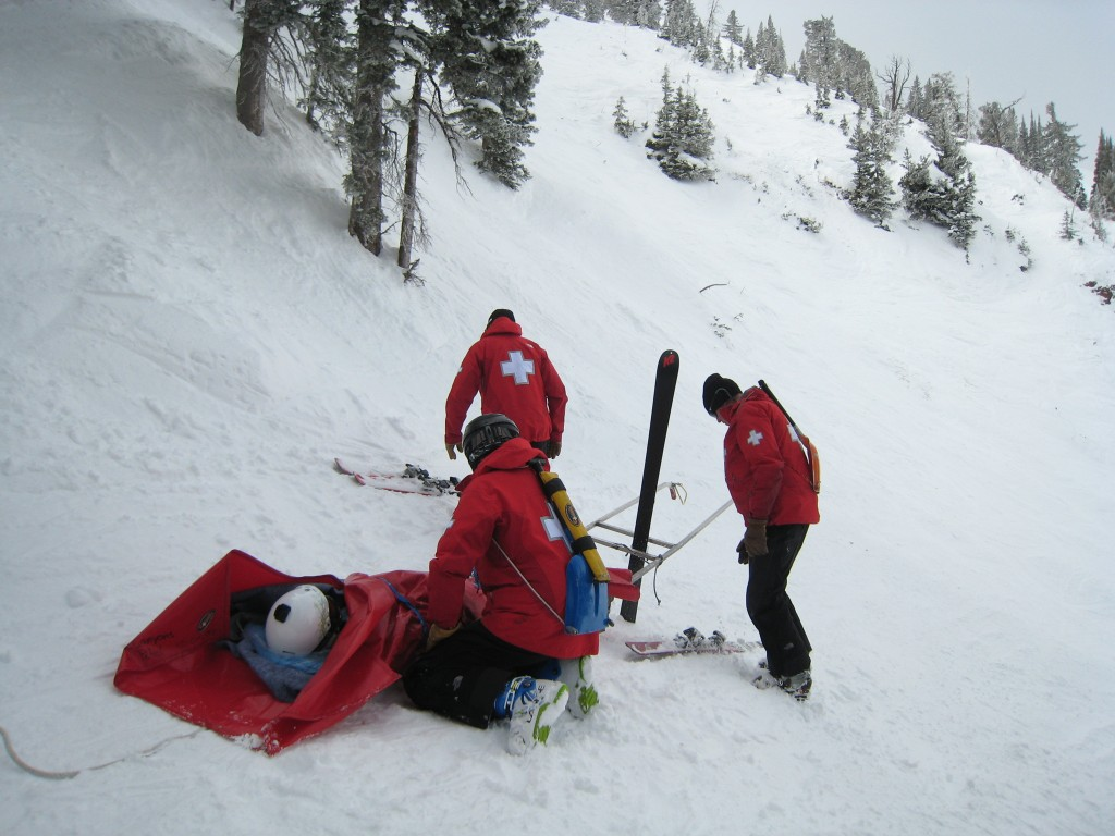 Sled evac on 9990 - March 2013