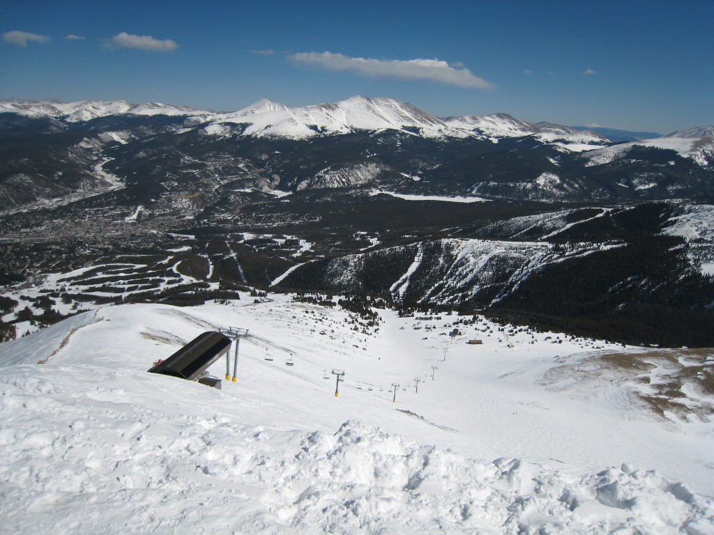 View from the top - 13,000', March 2009