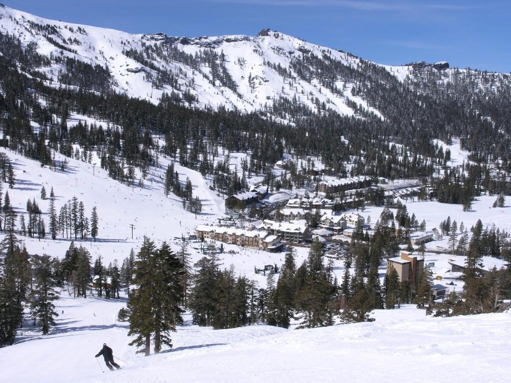 Kirkwood base area, March 2007
