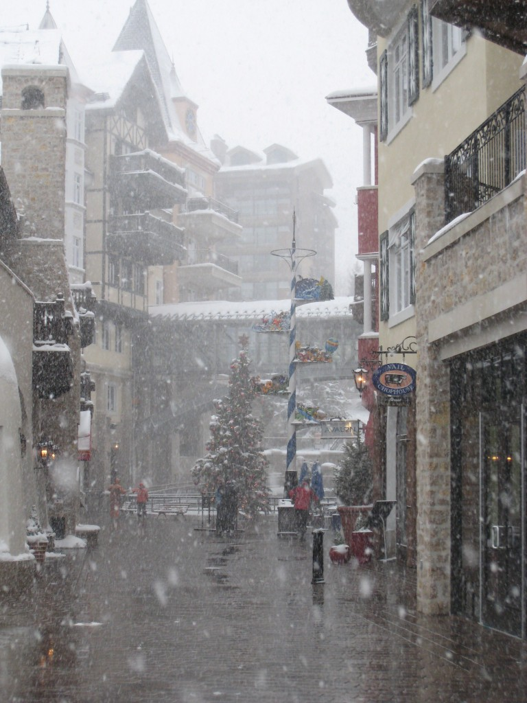 Lionshead during a snow storm, December 2008
