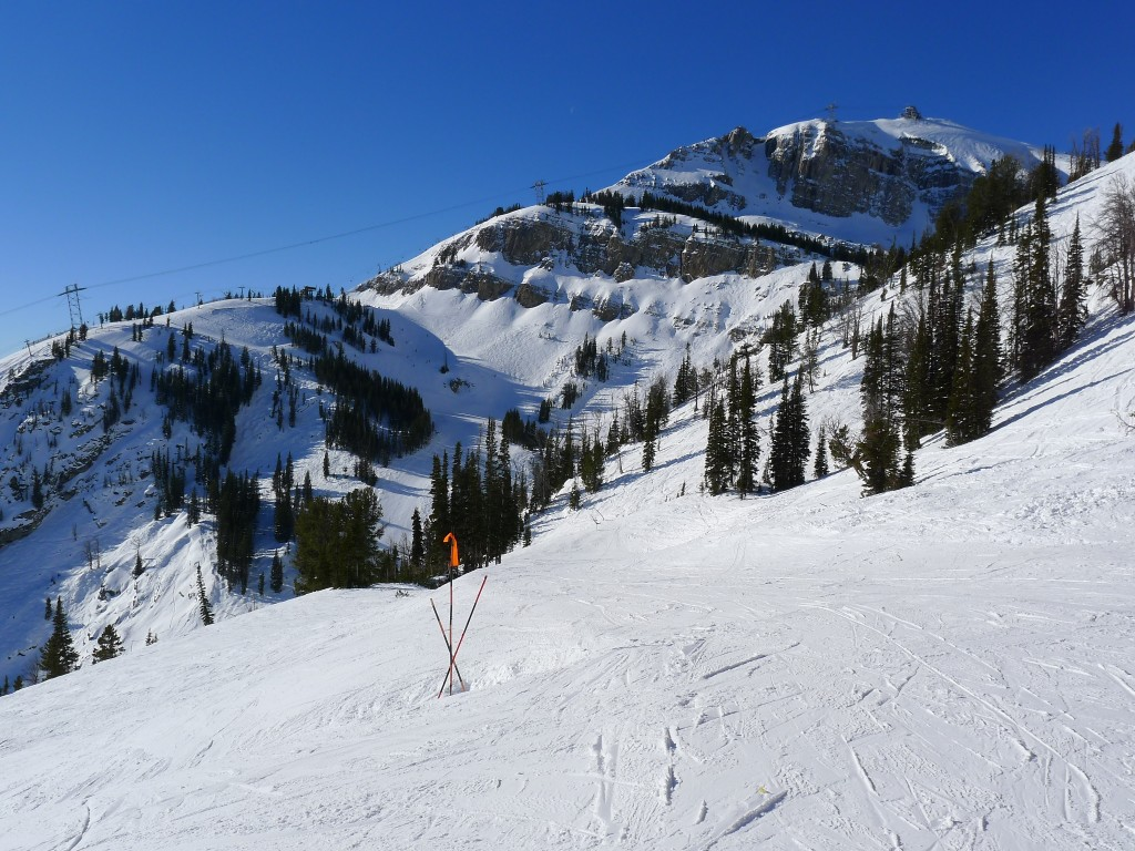 View from the top of the Gondola, December 2013
