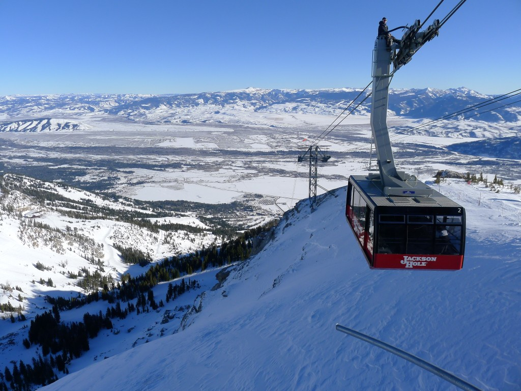 Top of the Tram, December 2013