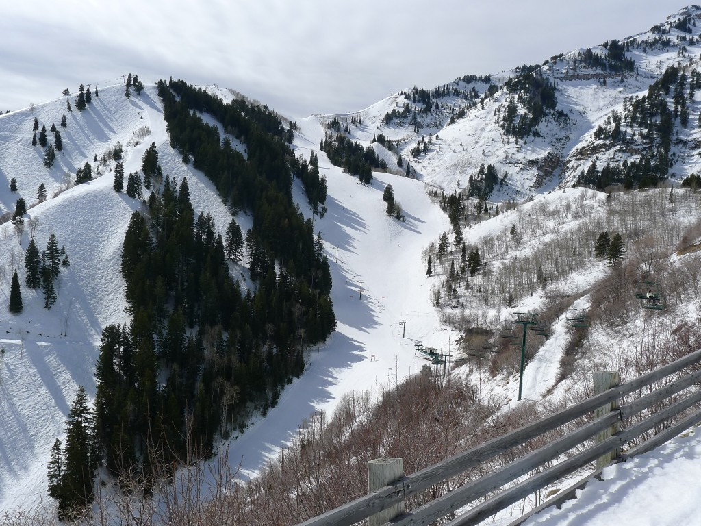 Sundance Upper Mountain, February 2014