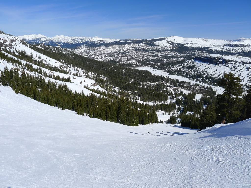 Sentinel Bowl at Kirkwood, March 2014