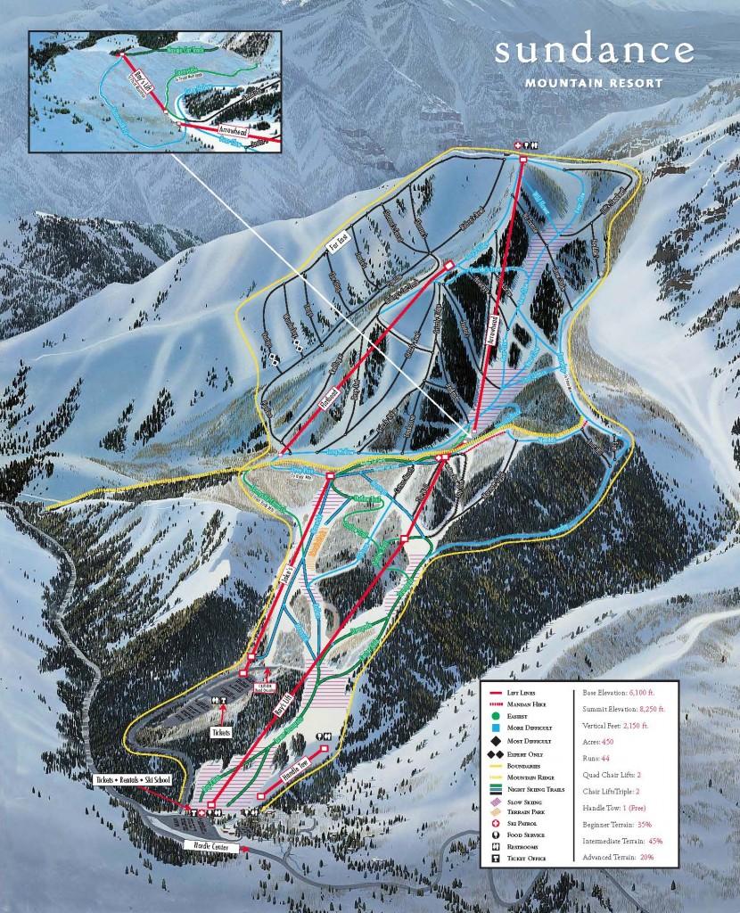 Sundance Trail Map 2013/2014