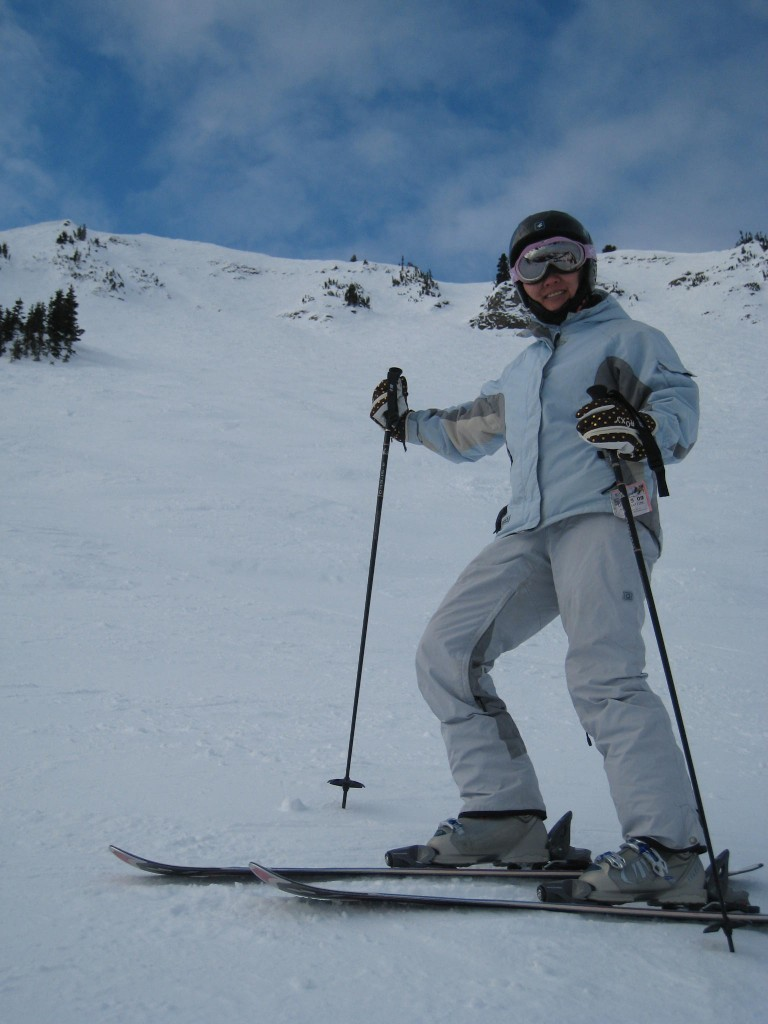 Steeps at Crystal Mountain, December 2009