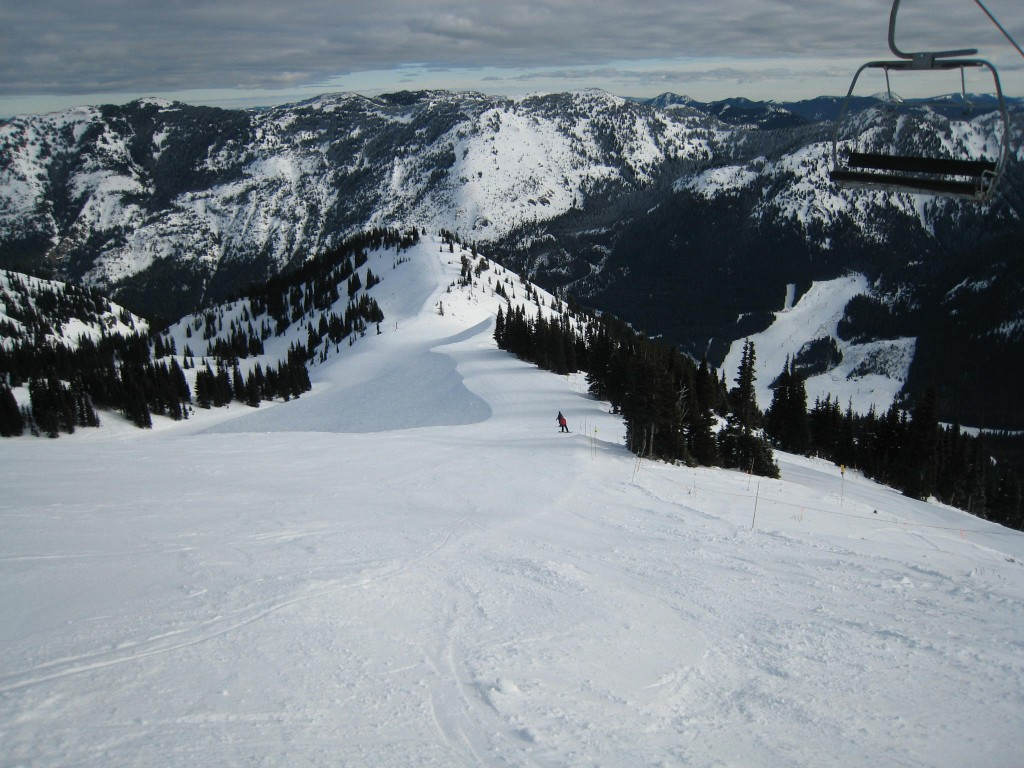 Typical Groomer at Crystal Mountain, December 2009