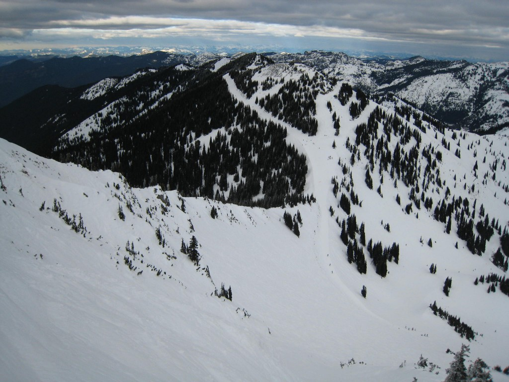 Upper Crystal Mountain, December 2009