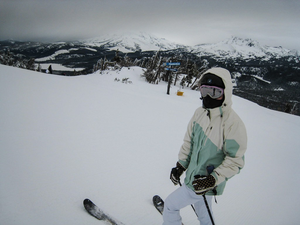 Mt Bachelor views, January 2010