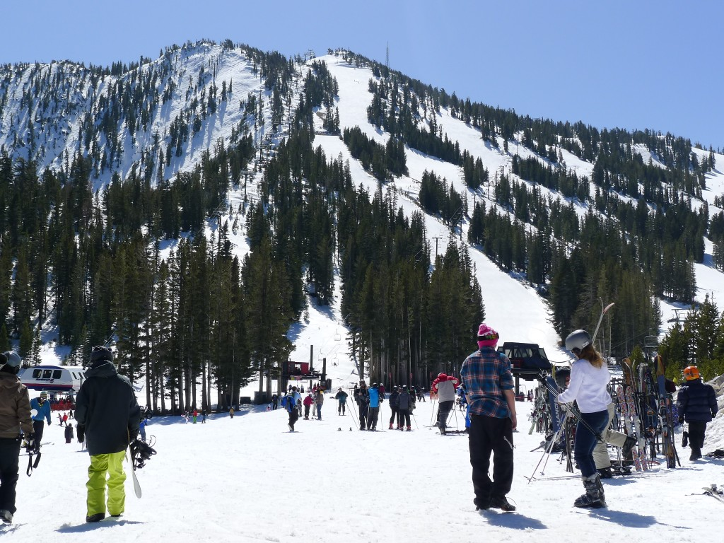 Mt Rose side, March 2014