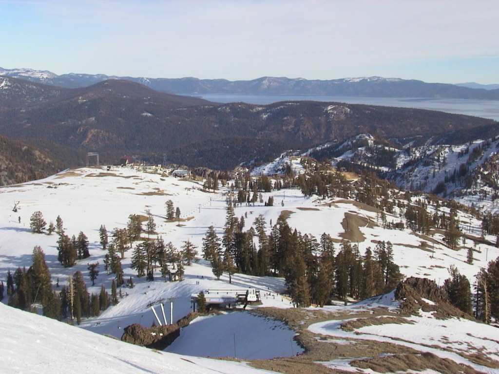 Top of Emigrant, Thanksgiving 2002