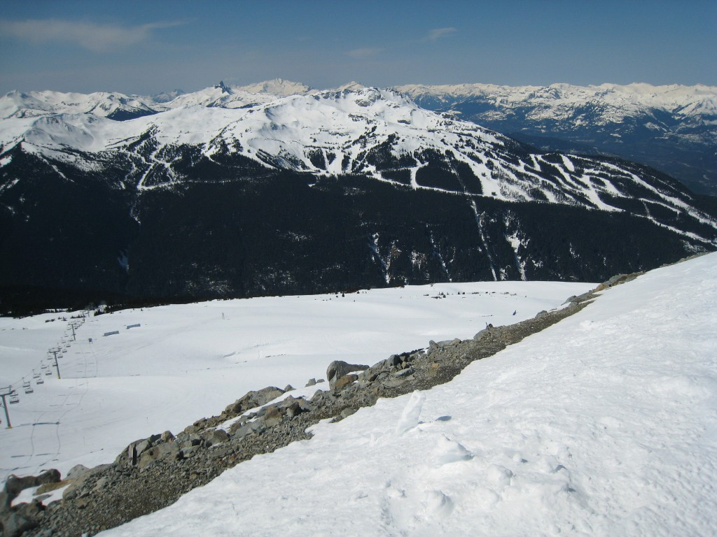 View of Whistler from Blackcomb
