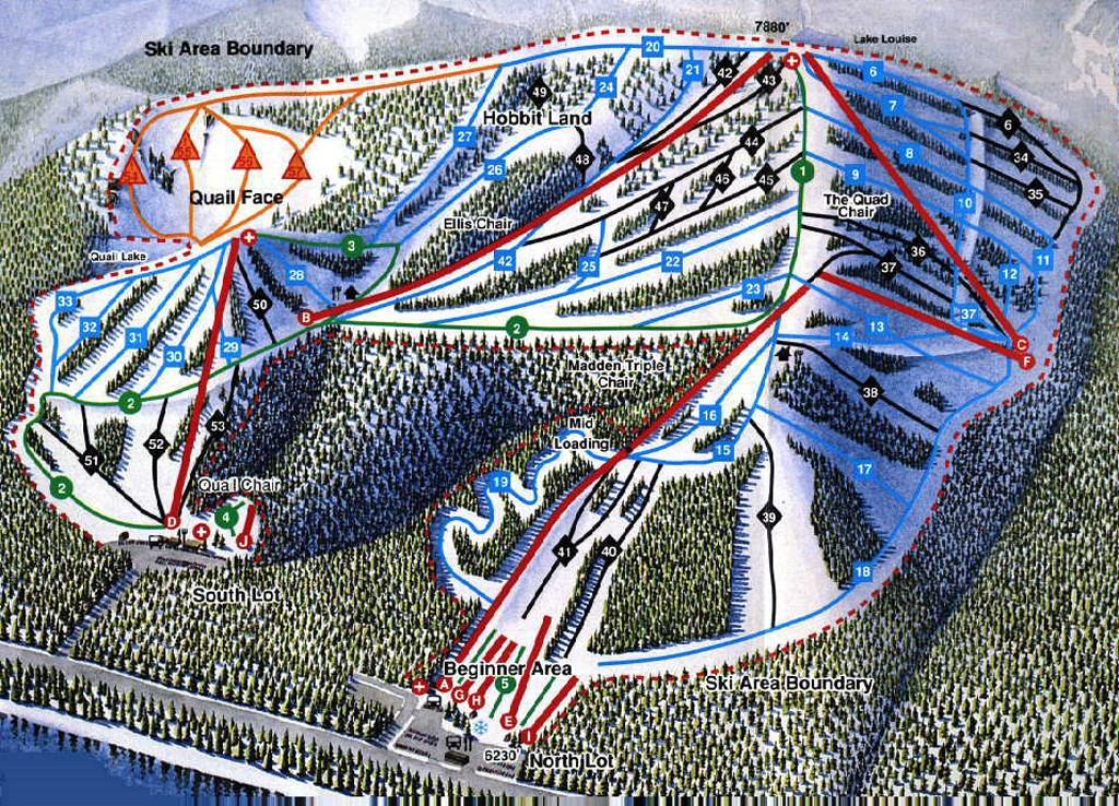 Homewood trail map