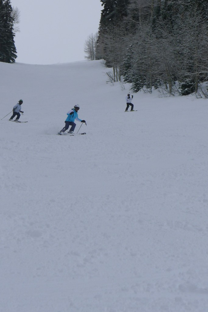 One of our favorite runs off Super Condor at The Canyons