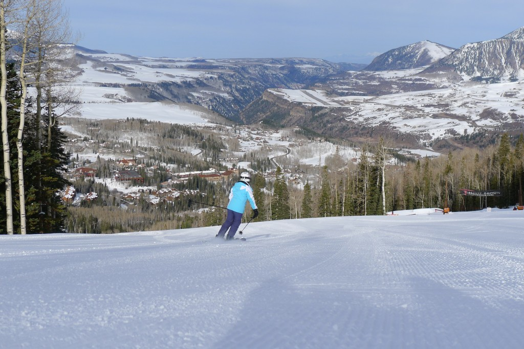 Telluride groomer, March 2015