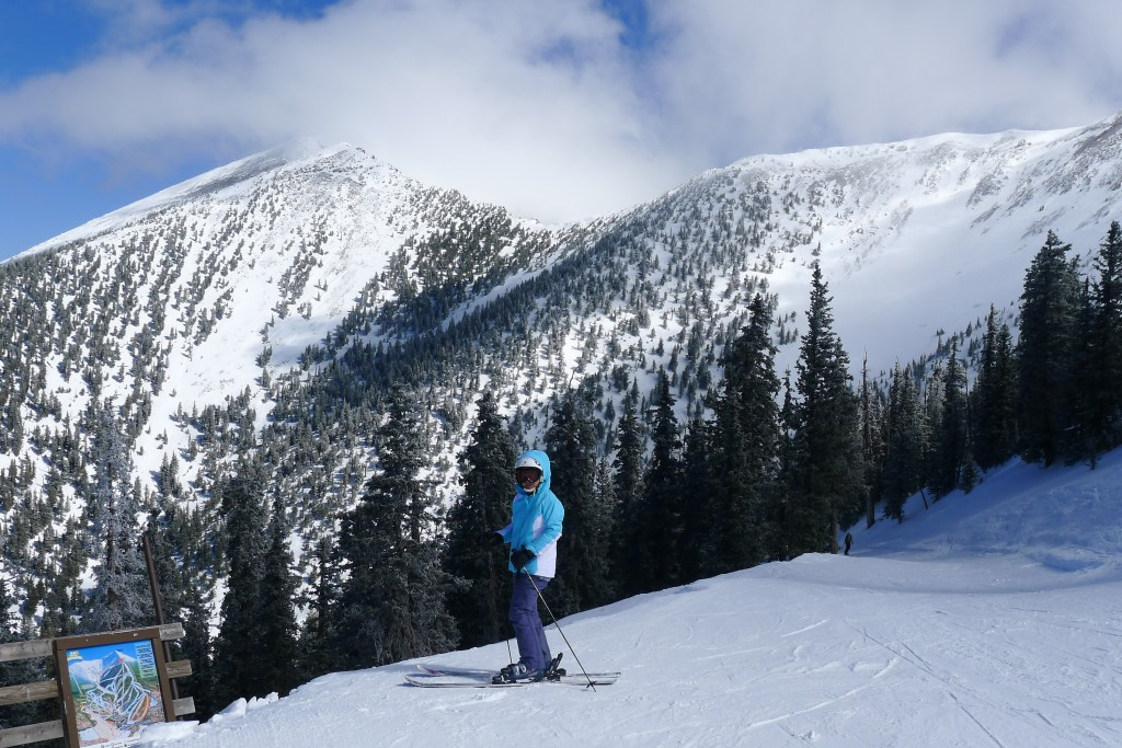 San Francisco Peak at Arizona Snowbowl, March 2015