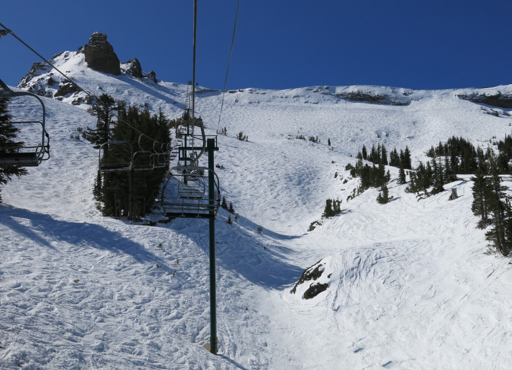 """The Wall"" at Kirkwood, April 10 2015"
