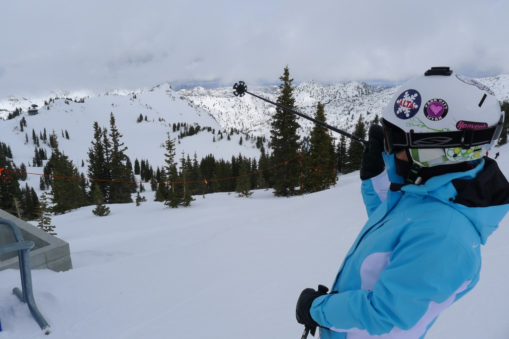 Alta Sugarloaf summit - February 2015