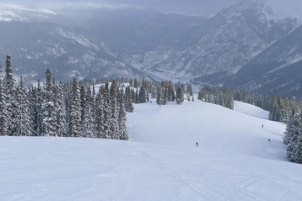 Wide groomer at Copper, December 2014