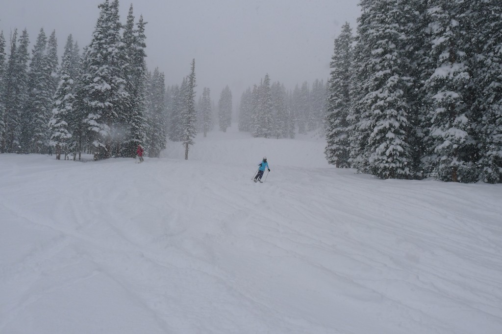 Powder day at Copper, December 2014