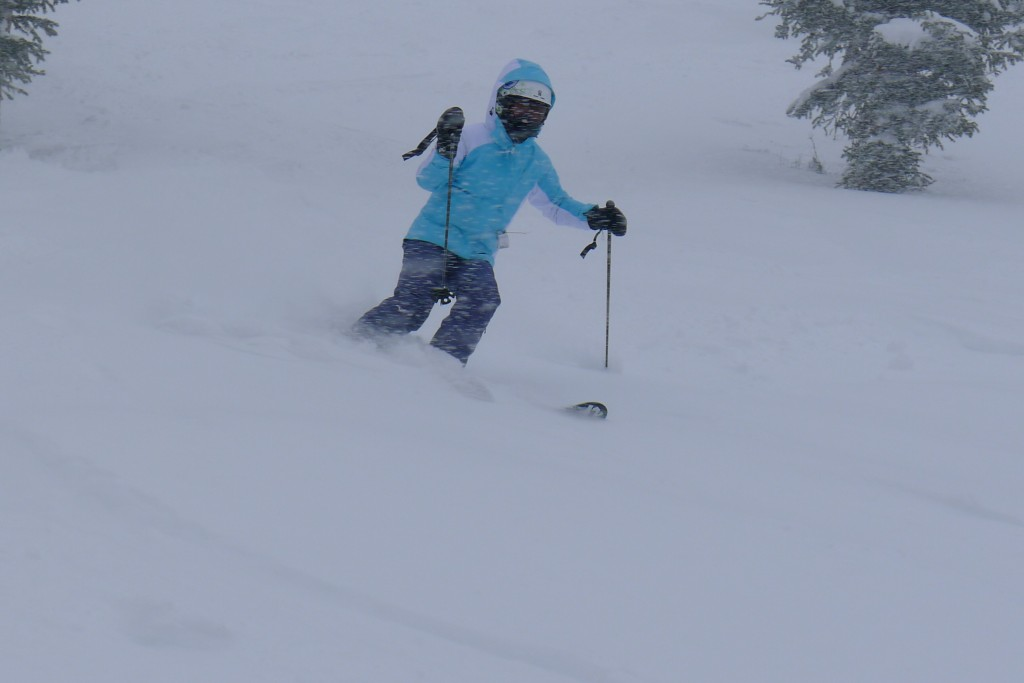 Perfect snow at Copper, December 2014