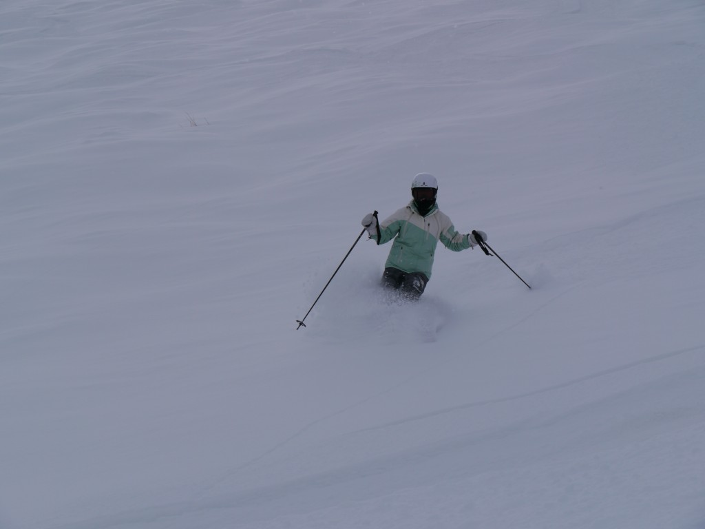 Powder Skiing at The Canyons, February 2012