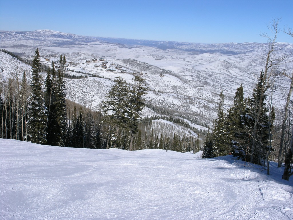 There are a lot of these nice groomers at Deer Valley