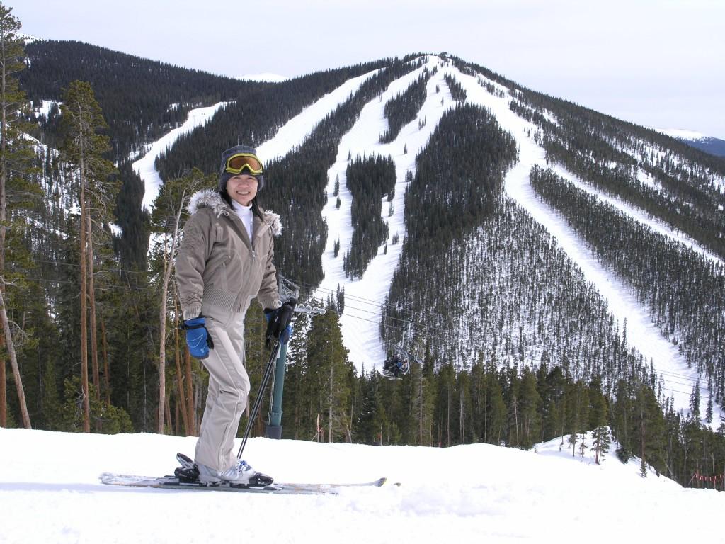 North Peak at Keystone, March 2006