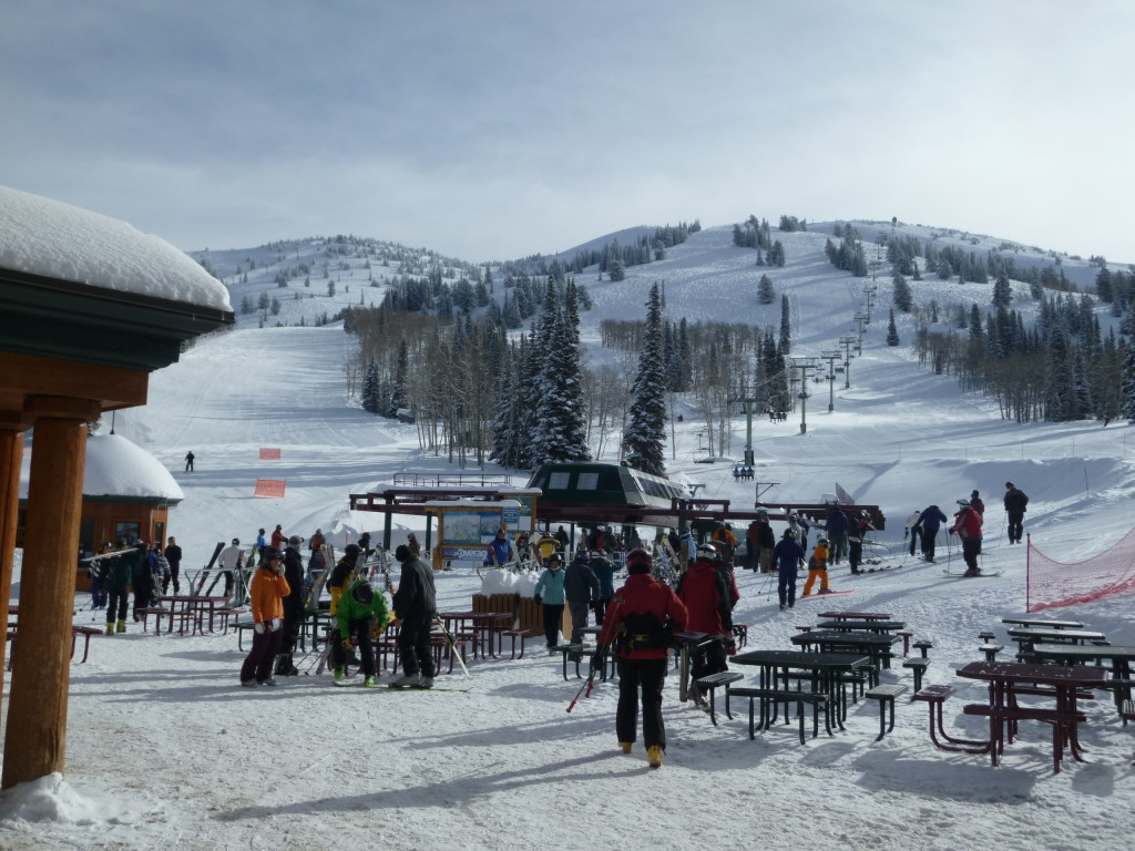 Grand Targhee base area, March 2011