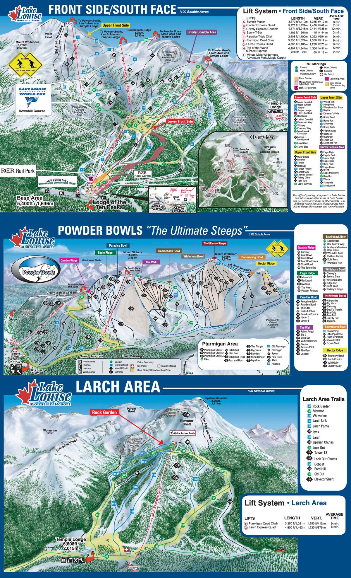 Lake Louise, Alberta - Ski North America\'s Top 100 Resorts