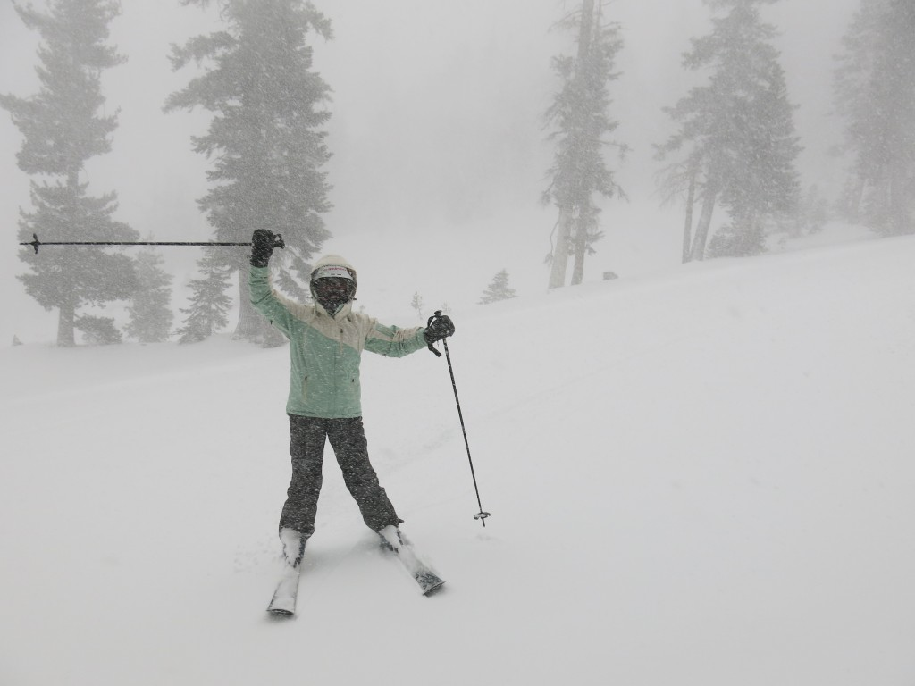 Stormy fun at Kirkwood November 15, 2015