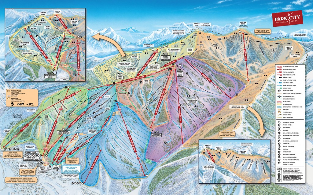 Park City Trail Map 2014/2015