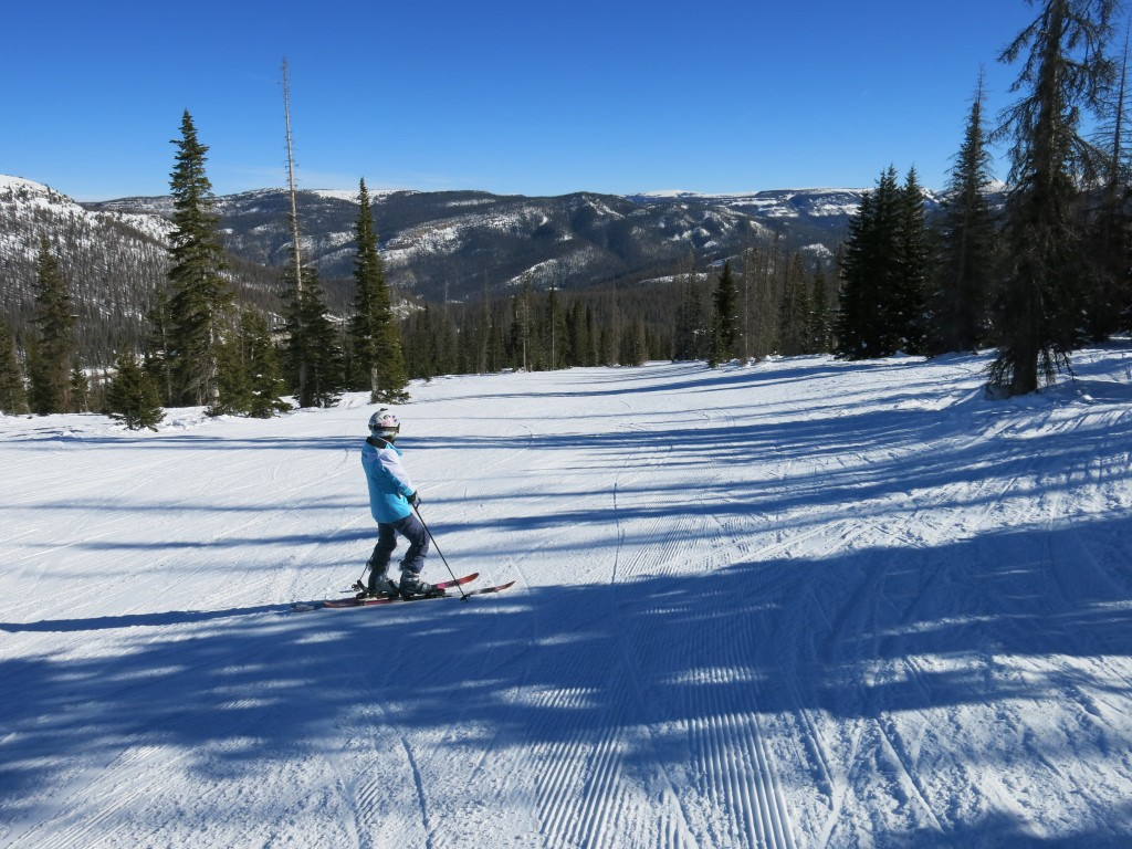 Blue run at Wolf Creek Colorado, January 2016