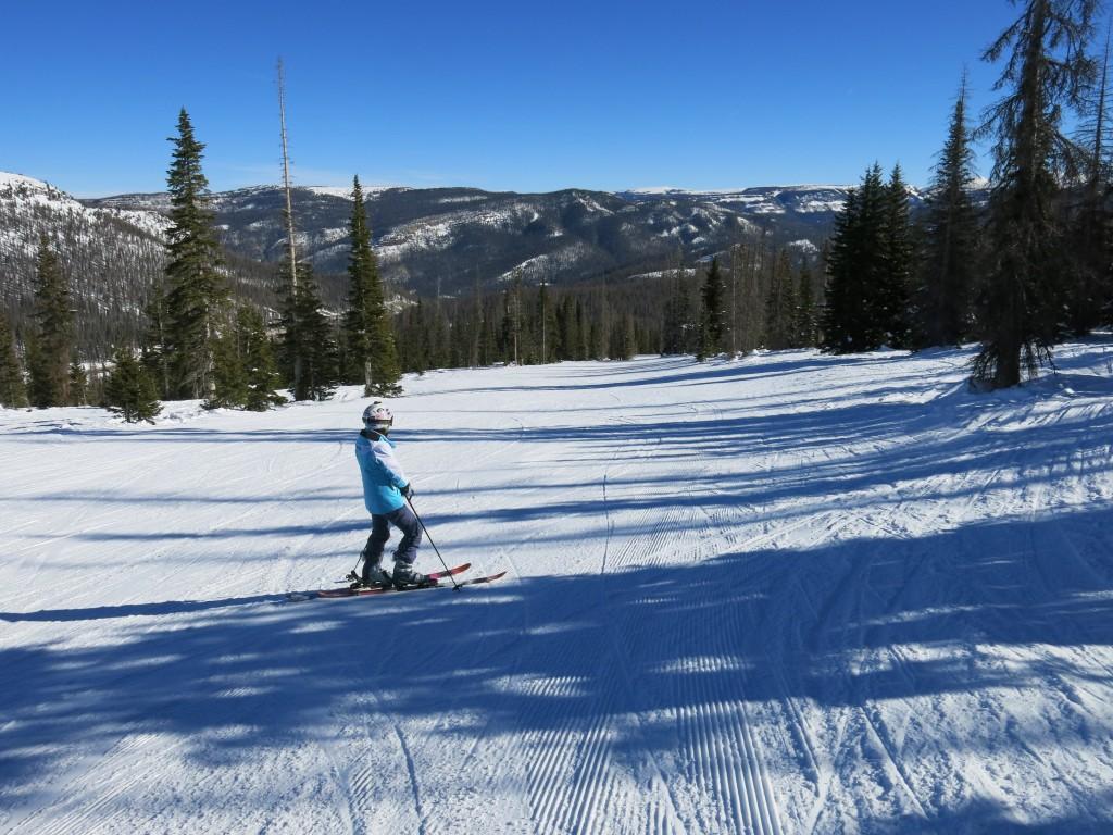 Blue run at Wolf Creek Colorado, January 2016