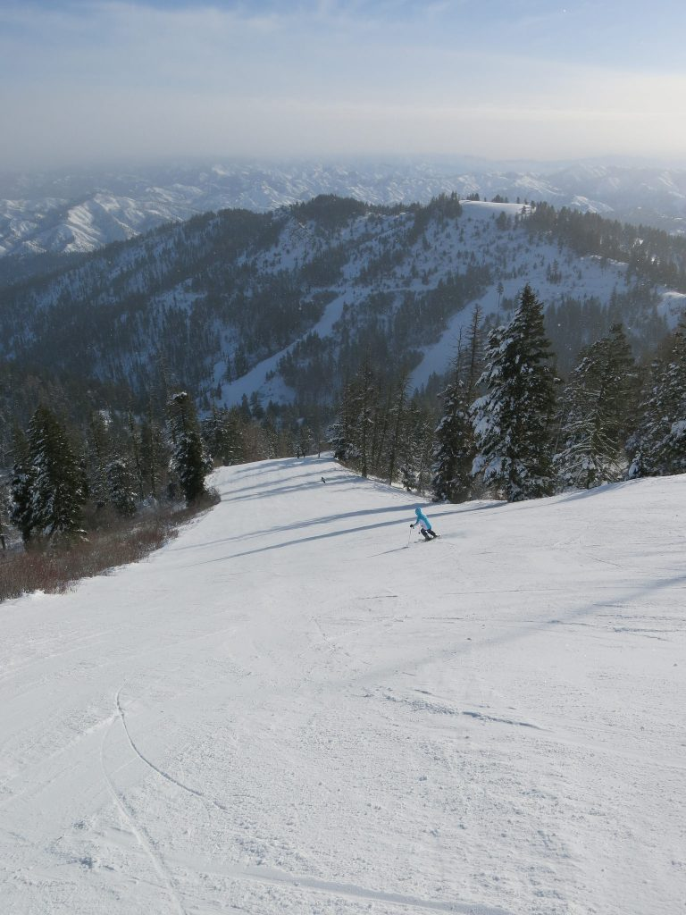 Best run at Bogus Basin - December 2015