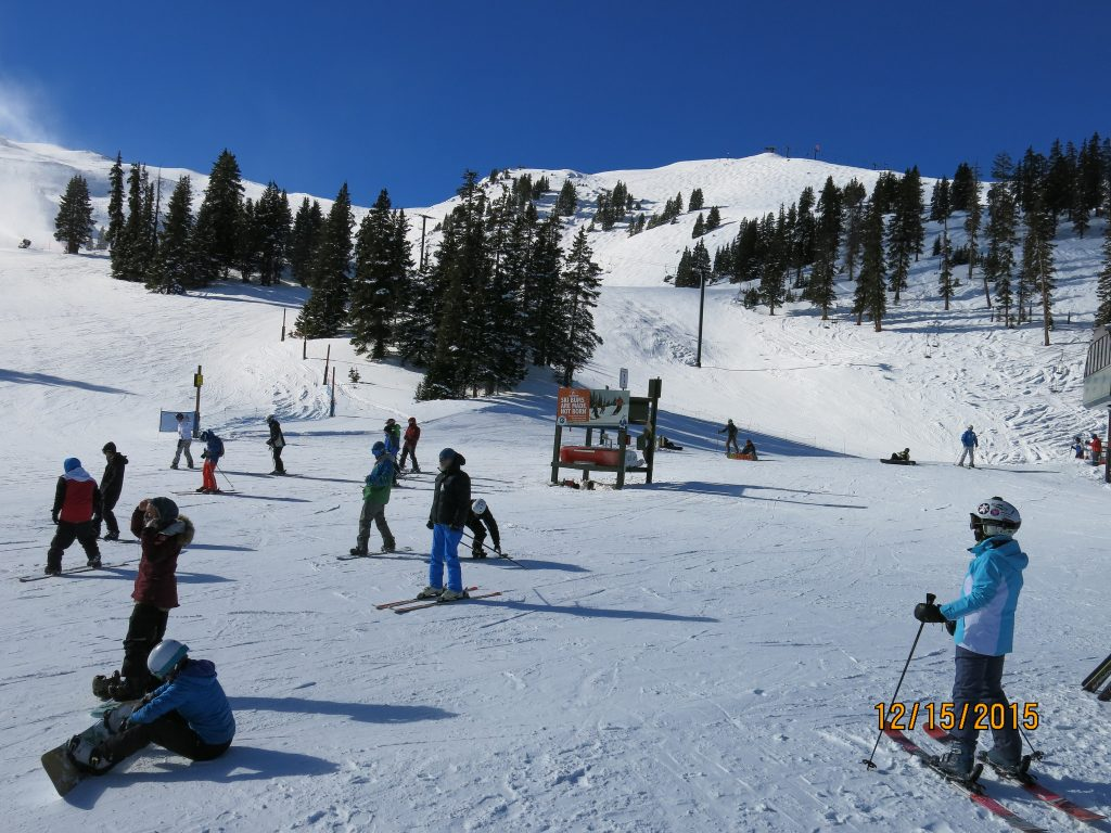 Mid-Mountain at A-Basin, December 2015