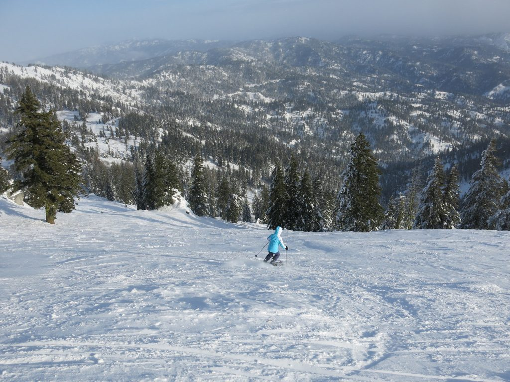 Bogus Basin off-piste - December 2015