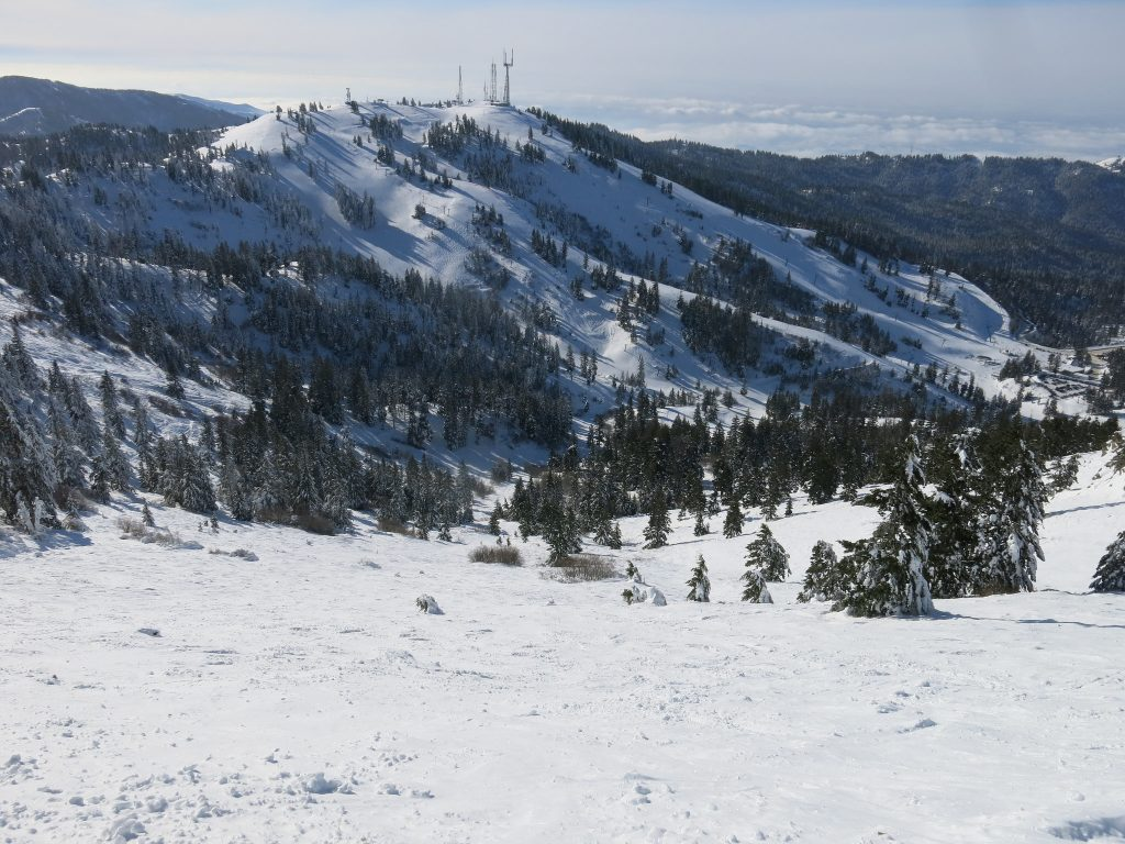 Bogus Basin frontside - December 2015