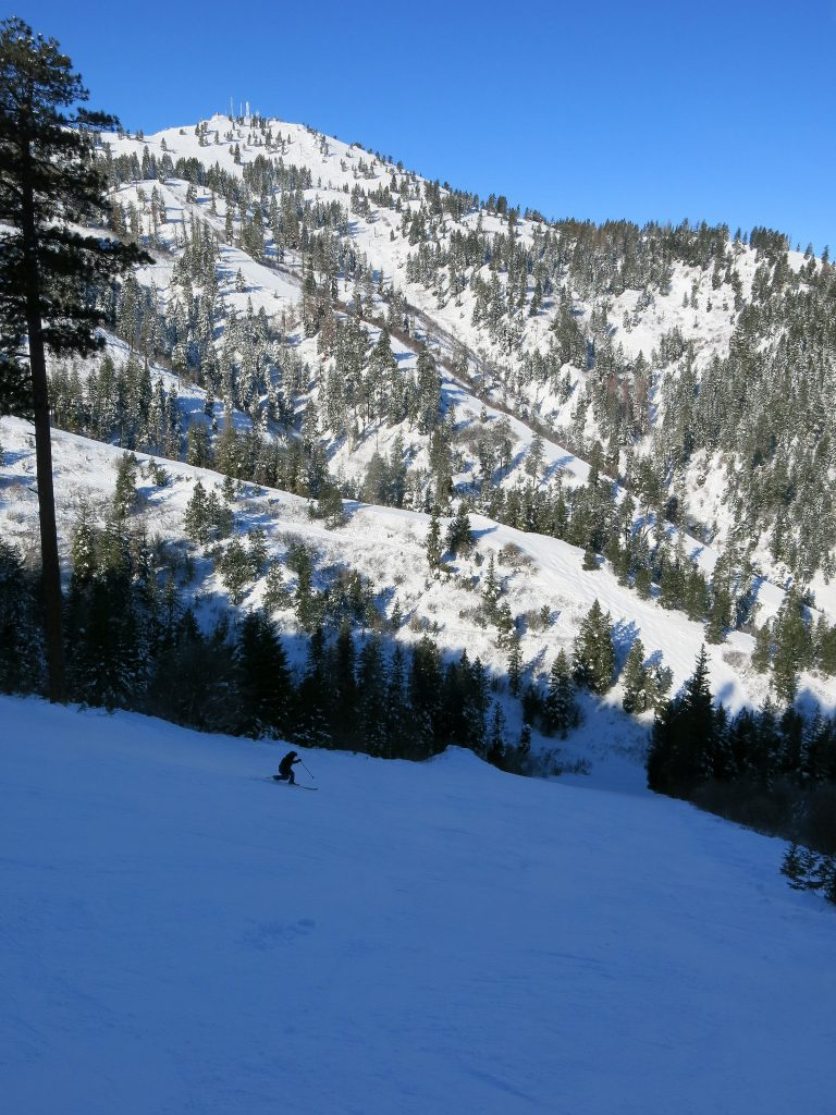 Bogus Basin steeper backside - December 2015