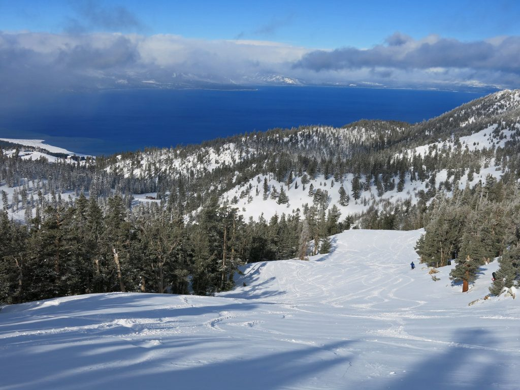 Best day of the season at Heavenly, January 2016