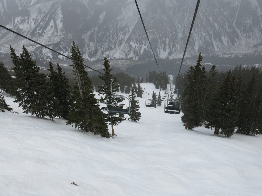 Deep Temerity lift at Aspen Highlands, March 2016