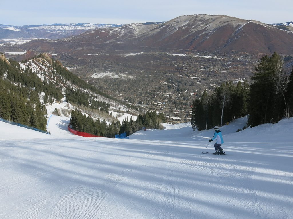 Lower Ruthies at Aspen Mountain, March 2016