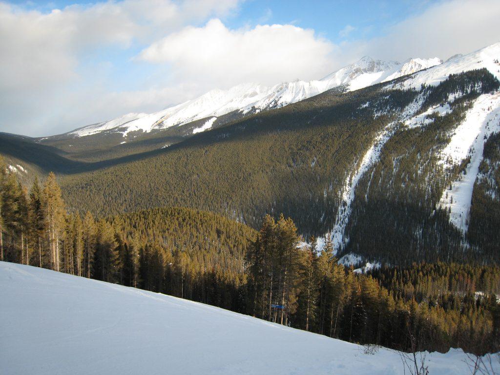 Mt. Norquay, December 2007