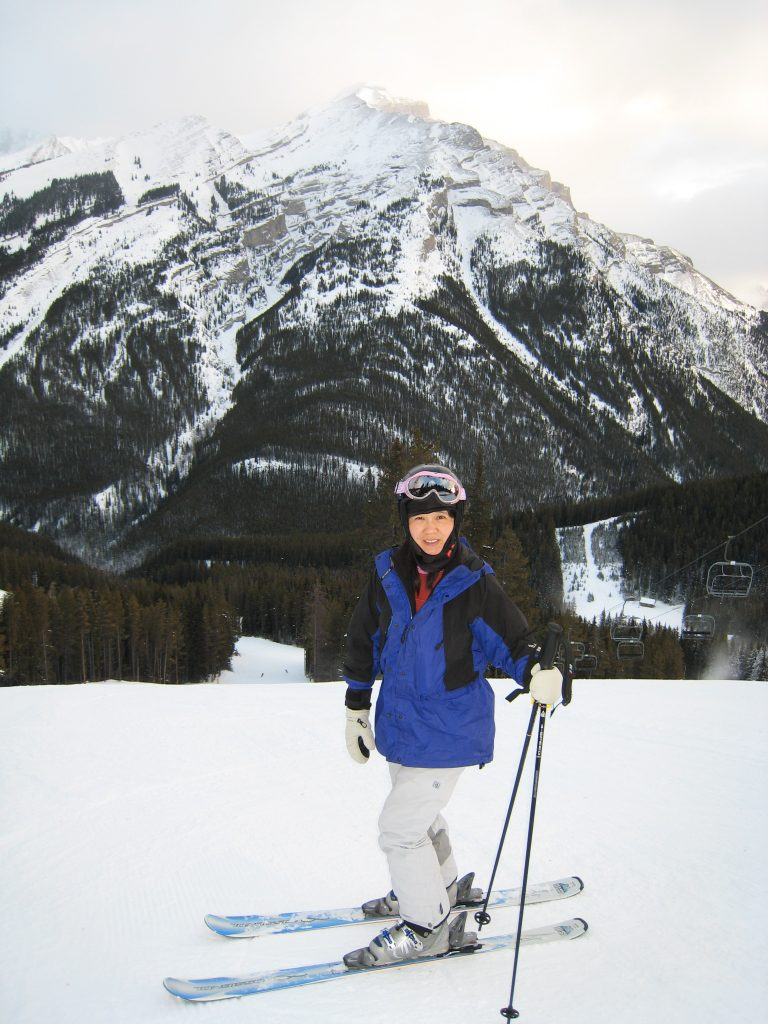 Mt. Norquay groomer, December 2007