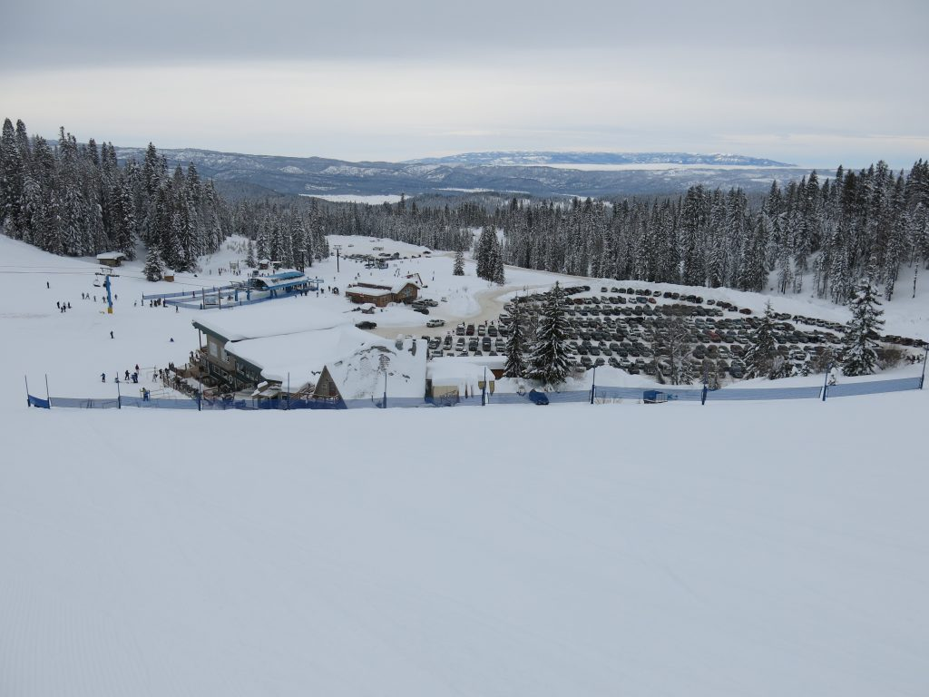Brundage base area, December 2015