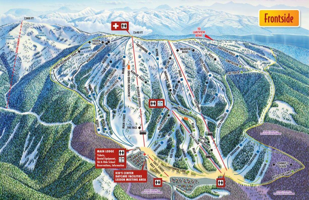 Brundage Trail Map 2015/16