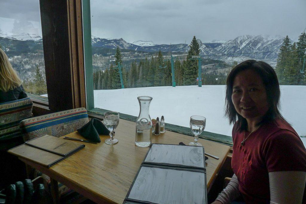 Dante's restaurant view, March 2016